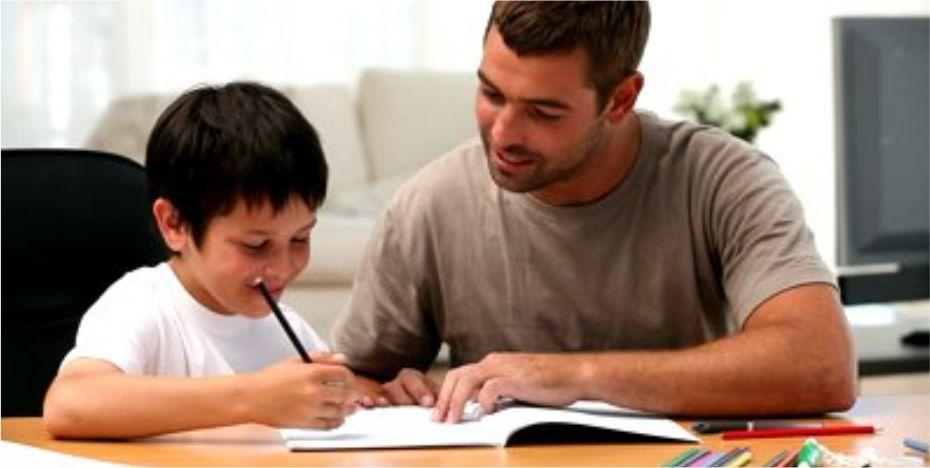 estudar com os filhos