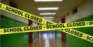 escolas fechads